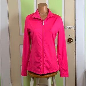 Under ARMOUR pink jacket medium